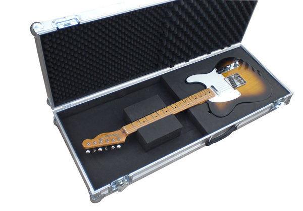 fender telecaster electric guitar hard case flight case. Black Bedroom Furniture Sets. Home Design Ideas